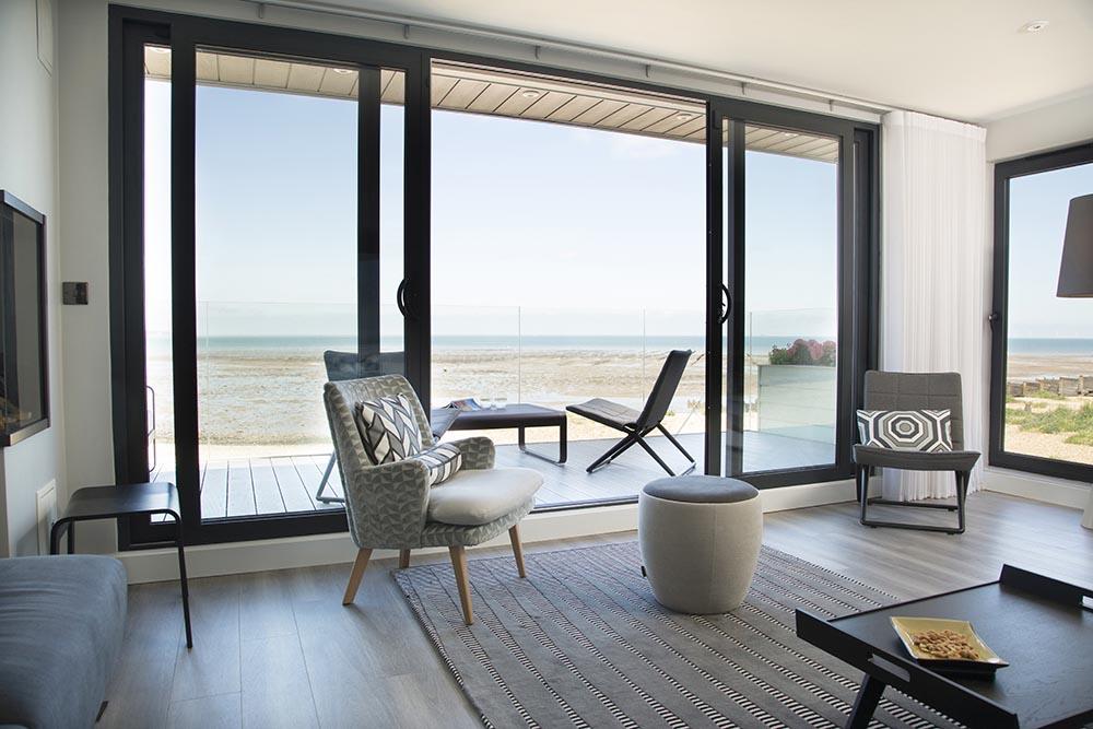 Whitstable beach views